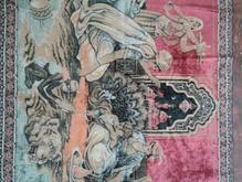 تابلو قدیمی مخمل ابریشمی انتیک مجلسی  در شیپور-عکس کوچک