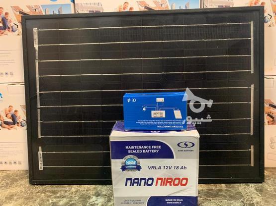 پکیج روشنایی خورشیدی 40 وات 18 آمپر در گروه خرید و فروش لوازم الکترونیکی در فارس در شیپور-عکس1