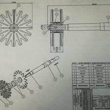 نقشه کش صنعتی ( خدمات طراحی و نقشه کشی)  در شیپور-عکس کوچک