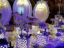 جایگاه عروس و داماد و سفره عقد با مدل و طرح جدید در شیپور-عکس کوچک