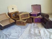 جعبه زیورآلات چوبی دستساز در شیپور-عکس کوچک