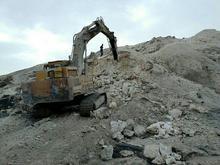 معدن سیلیس کوارتز و خاک نسوز در شیپور-عکس کوچک