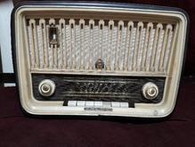 رادیو برقی قدیمی انتیک دکوری المانی سالم در شیپور-عکس کوچک
