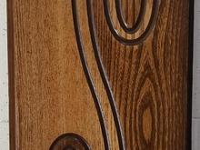 درب چوبی CNC ملامینه  دیوارکوب  قرنیز  کناف در شیپور-عکس کوچک