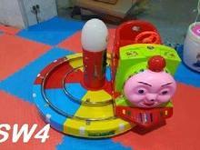 دستگاه اسباب بازی سکه ای تکان دهنده کودک در شیپور-عکس کوچک