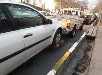 امداد خودرو شرق تهران ماشین بر بکسل نیسان جرثقیل حمل چرخگیر در شیپور-عکس کوچک