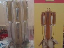 ست کفگیر و ملاقه استیل ضد زنگ در شیپور-عکس کوچک