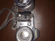 دوربین کنون T70 و لنز در شیپور-عکس کوچک