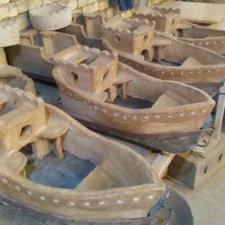 منقل های سنتی و زیبا، منقل گلی صنایع دستی در شیپور-عکس کوچک