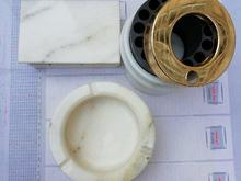 جاسیگاری با زیر سیگاری ساخت روسیه از سنگ در شیپور-عکس کوچک