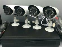 چهار عدد دوربین مداربسته 2 مگاپیکسل با تمام وسایل در شیپور-عکس کوچک