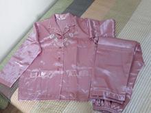 لباس خواب ساتن براق صورتی XL فوری در شیپور-عکس کوچک