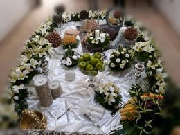 سفره عقد ،گل آرایی و شمع آرایی در شیپور-عکس کوچک