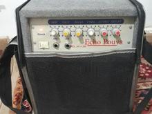 اکو.آمپلی فایر.دو ورودی برای ۲ میکروفون. در شیپور-عکس کوچک