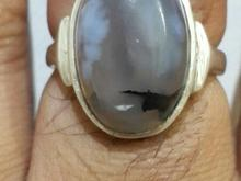انگشتر عقیق شجر اصل رکاب دست زیبا و بینظیر در شیپور-عکس کوچک