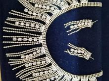 ست گوشواره و گردنبند( لاهیجان) در شیپور-عکس کوچک