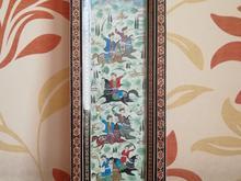 نقاشی کار دست با قاب خاتم در شیپور-عکس کوچک
