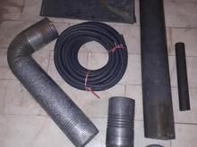 لوله بخاری ؛ لوله پولیکا ؛ لوله سیم کشی و مقداری ضایعات در شیپور-عکس کوچک