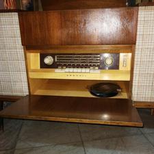 رادیو گرامافون گراندیک آلمانی در شیپور-عکس کوچک