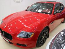 مازراتی کوارتروپورته مدل 2012 قرمز رنگ در شیپور-عکس کوچک
