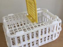 جعبه حمل مرغی،قفس حمل مرغ زنده،جعبه میوه،جعبه باگتی،کشتارگاه در شیپور-عکس کوچک