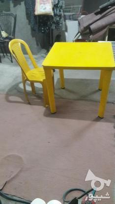 میز صندلی  تحریر تمیز  در گروه خرید و فروش لوازم خانگی در اصفهان در شیپور-عکس1