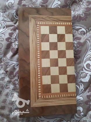 تخته نرد چوب  در گروه خرید و فروش ورزش فرهنگ فراغت در کرمانشاه در شیپور-عکس1