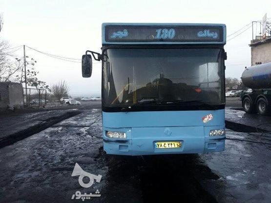 اتوبوس شهری شهاب دیزل فابریک مدل87سند آزاد درتبریز در گروه خرید و فروش وسایل نقلیه در تهران در شیپور-عکس1