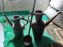 2عدد آفتابه و یک عدد ملاغه در شیپور-عکس کوچک