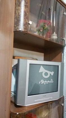 تلویزیون در حد نو با زیر تلوزیون در گروه خرید و فروش لوازم الکترونیکی در قم در شیپور-عکس1