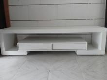 میز تلویزیون سفید کم کارکرد در شیپور-عکس کوچک