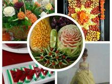 میوه ارایی. حکاکی .یلدا در شیپور-عکس کوچک