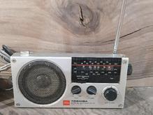 رادیو توشیبا ژاپن قدیمی  در شیپور-عکس کوچک