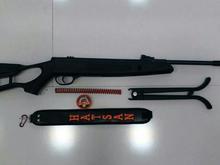 تفنگ هاتسان مدل1100نو و پلمپ کالیبر 5.5   در شیپور-عکس کوچک