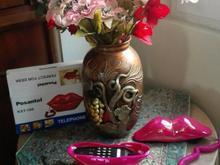 تلفن رومیزی فانتزی مدل لب نو آکبند در شیپور-عکس کوچک