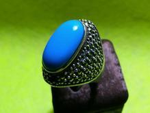فروش انگشتر فیروزه نقره در شیپور-عکس کوچک