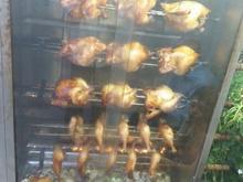 جوجه گردان. دستگاه مرغ سوخاری در شیپور-عکس کوچک