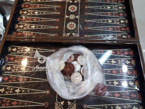 تخته نرد بازی  در گروه خرید و فروش ورزش فرهنگ فراغت در کرمانشاه در شیپور-عکس1