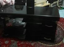 میز تلویزیون کتیبه دار ال ای دی  در شیپور-عکس کوچک