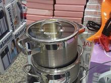 سرویس قابلمه استیل.اصلی.ضدخش18/10 در شیپور-عکس کوچک