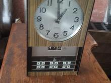ساعت دیواری آونگی سیکو آنتیک وقدیمی زنگ دار در شیپور-عکس کوچک