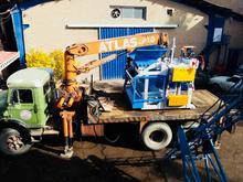 ماشین بلوک صنعت حق نژاد دستگاه بلوک زنی در شیپور-عکس کوچک