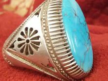 انگشتر فیروزه سنگین  در شیپور-عکس کوچک