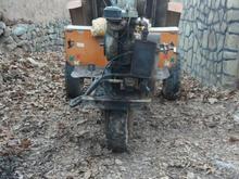 موتور3چرخ  کنپرسی  برای حمل  مصالح ساختمانی  در شیپور-عکس کوچک