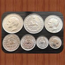 ست اصل و بدون تکرار سکه های پهلوی در شیپور-عکس کوچک
