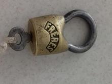 قفل آویز قدیمی در شیپور-عکس کوچک