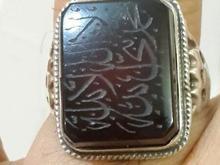 انگشتر عقیق سرخ خطی قدیمی زیبا و چشم نواز در شیپور-عکس کوچک
