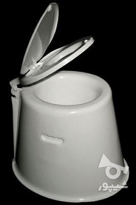 توالت فرنگی  پلاستیکی سیار  تاشو  در گروه خرید و فروش لوازم شخصی در تهران در شیپور-عکس1