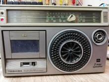 رادیو توشیبا قدیمی در شیپور-عکس کوچک