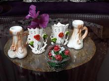 گلدان/جاشمعی کوچک در شیپور-عکس کوچک